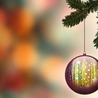 Cadeaux de Noël messagers par l'AED